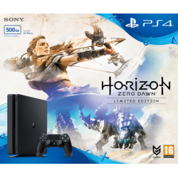 PLAYSTATION 4 SLIM 500GB + HORIZON ZERO DAWN
