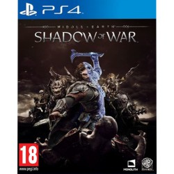 ŚRÓDZIEMIE CIEŃ WOJNY MIDDLE-EARTH SHADOW OF WAR (PS4)