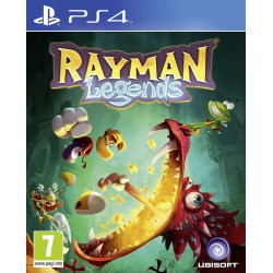 RAYMAN LEGENDS PL (PS4)