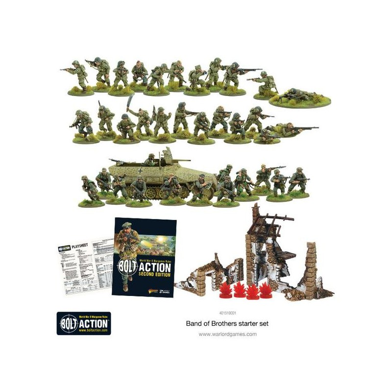 BOLT ACTION 2 ZESTAW STARTOWY BAND OF BROTHERS