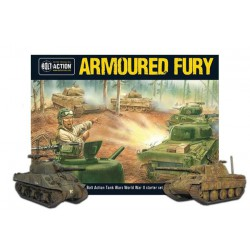 BOLT ACTION ARMOURED FURY ZESTAW STARTOWY