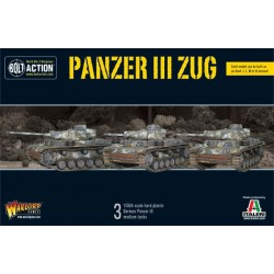 BOLT ACTION PANZER III / GERMAN ARMY