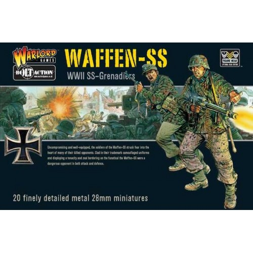 BOLT ACTION WAFFEN-SS GRENADIER PLATOON / GERMAN ARMY