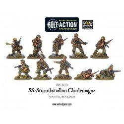 BOLT ACTION SS-STURMBATAILLON CHARLEMANGE / GERMANY ARMY