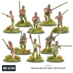 JAPANESE BAMBOO SPEAR FIGHTER SQUAD / BOLT ACTION