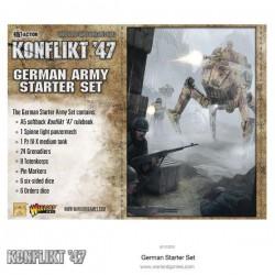 KONFLIKT '47 GERMANY ZESTAW STARTOWY