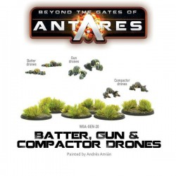 BATTER, GUN & COMPACTORS DRONES /GATES OF ANTARES