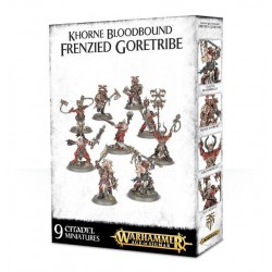 WARHAMMER AGE OF SIGMAR: SKIRMISH KHORNE BLOODBOUND FRENZIED GORETRIBE