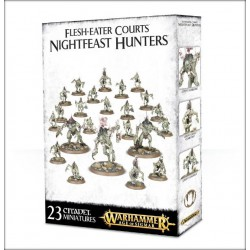 WARHAMMER AGE OF SIGMAR: SKIRMISH FLESH-EATER COURTS NIGHTFEAST HUNTERS