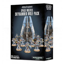 SPACE WOLVES SKYHAMMER WOLF PACK
