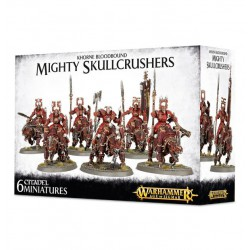 KHORNE BLOODBOUND MIGHTY SKULLCRUSHERS /AGE OF SIGMAR