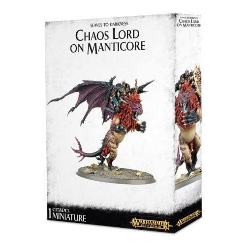 CHAOS LORD ON MANTICORE/AGE OF SIGMAR