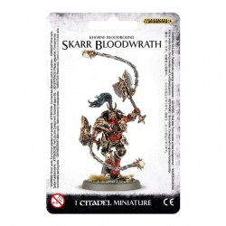KHORNE BLOODBOUND SKARR BLOODWRATH/AGE OF SIGMAR