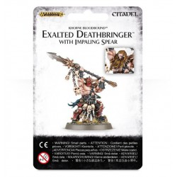 EXALTED DEATHBRINGER WITH IMPALING SPEAR/AGE OF SIGMAR