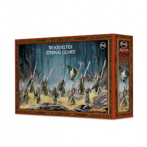 WOOD ELVES ETERNAL GUARD/AGE OF SIGMAR
