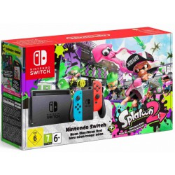 KONSOLA NINTENDO SWITCH NEON RED & BLUE + GRA SPLATOON 2 (WERSJA CYFROWA)