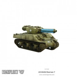 M4A9-T SHERMAN WITH TESLA COMMON KONFLIKT'47