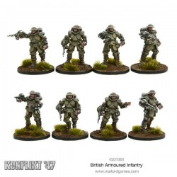 BRITISH ARMOURED INFANTRY SECTION KONFLIKT'47