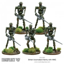 BRITISH AUTOMATED INFANTRY WITH MMG KONFLIKT'47