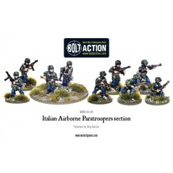 ITALIAN AIRBORNE PARATROOPERS SECTION BOLT ACTION