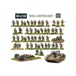 BRITISH STARTER ARMY 1,000PT BOLT ACTION