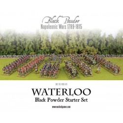 WATERLOO - BLACK POWDER STARTER SET HISTORICAL