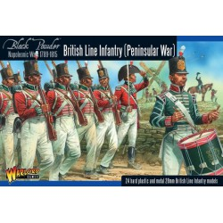 BRITISH LINE INFANTRY BLACK POWDER