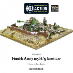 FINNISH ARMY 105 H/33 HOWITZER