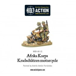 AFRIKA KORPS KRADSCHUTZEN MOTORCYCLE BOLT ACTION