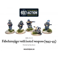 FALLSCHIRMJAGER WITH LOOTED WEAPONS BOLT ACTION