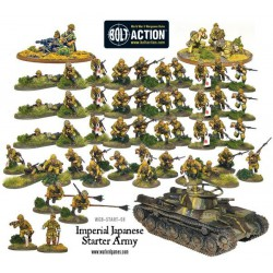 BANZAI! IMPERIAL JAPANESE ARMY STARTER ARMY BOXED SET BOLT ACTION