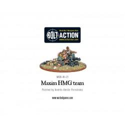 SOVIET MAXIM HMG CREW BOLT ACTION