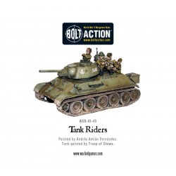 SOVIET TANK RIDERS BOLT ACTION