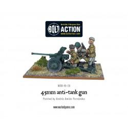 SOVIET 45MM ANTI TANK GUN BOLT ACTION