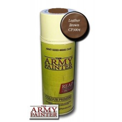 FARBA W SPRAYU WARPAINTS LEATHER BROWN THE ARMY PAINTER