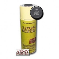 FARBA W SPRAYU WARPAINTS GUN METAL THE ARMY PAINTER