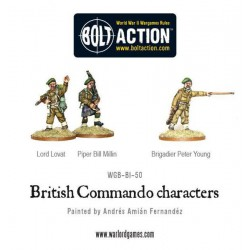 BRITISH COMMANDO CHARACTERS BOLT ACTION
