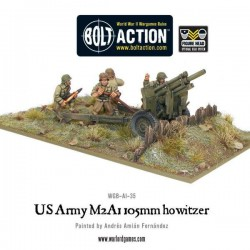 US ARMY M2A1 105MM HOWITZER BOLT ACTION