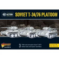 SOVIET T34/76 PLATOON BOLT ACTION