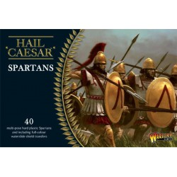 SPARTANS PLASTIC BOXED SET HAIL CAESAR