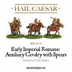 IMPERIAL ROMANS: AUXILIARY CAVALRY WITH SPEARS HAIL CAESAR