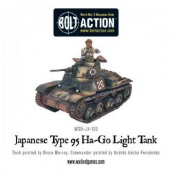 JAPANESE TYPE 95 HA-GO LIGHT TANK BOLT ACTION