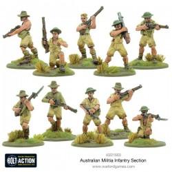 AUSTRALIAN MILITIA INFANTRY SECTION (PACIFIC) BOLT ACTION