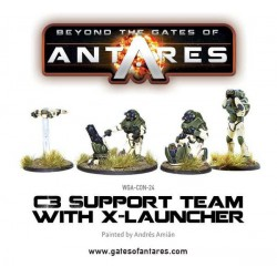 CONCORD SUPPORT TEAM X-LAUNCHER GATES OF ANTARES
