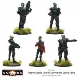 ALGORYN SPECIAL DIVISION COMMANDER ESS MA RAHQ GATES OF ANTARES