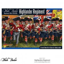 HIGHLANDERS REGIMENT BLACK POWDER