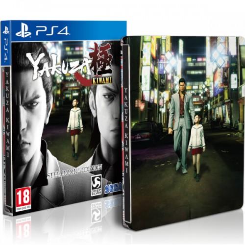 PS4 YAKUZA KIWAMI - EDYCJA STEELBOOK