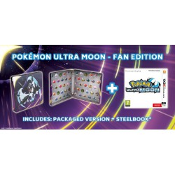POKEMON ULTRA MOON STELLBOOK EDITION (3DS)