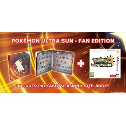POKEMON ULTRA SUN STEELBOOK EDITION (3DS)