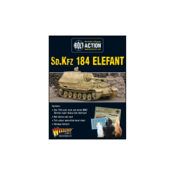 The Sd.Kfz 184 ELEFANT HEAVY TANK DESTROYER BOLT ACTION